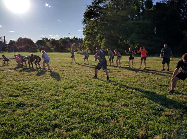 Boot Camp Games: Hold the Line