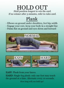 Hold-Out-Plank